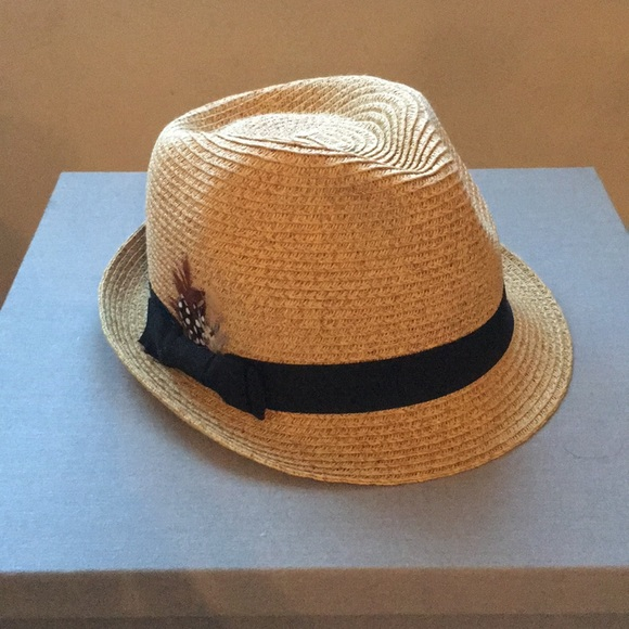 12ff6ff362930 Nine West Straw fedora hat. M 5aa46a133afbbd6a7e3c4016. Other Accessories  ...